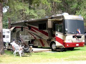 Minocqua, Wisconsin RV Campground and RV Park - Patricia Lake