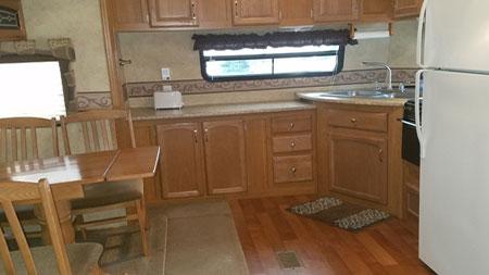 35' Rental Kitchen